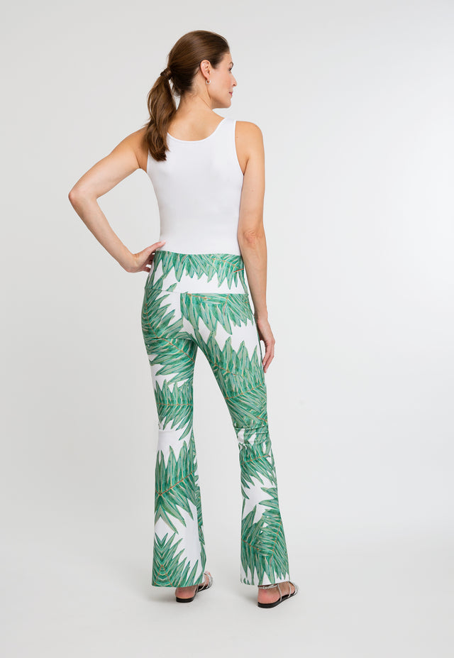 Elaine Pant in Queen Palm back view