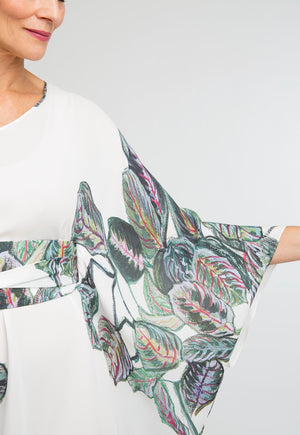 Alexandra Kaftan in Tropical Leaves 5