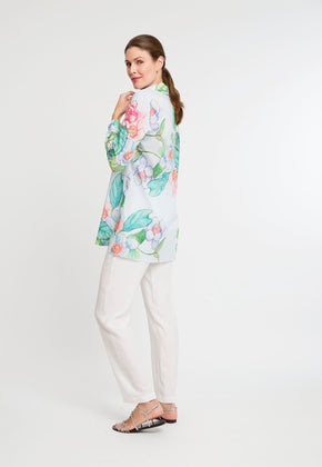 Ala Blouse in Grandiflora side view