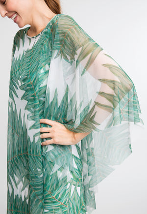 Artemisia Poncho in Queen Palm side view