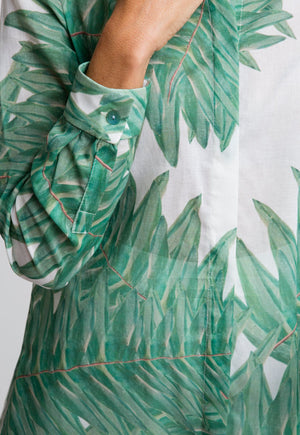 Ala Blouse in Queen Palm