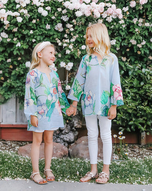Penny Tunic for Girls in Grandiflora