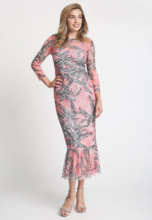 Sophie Dress in Calathea front view