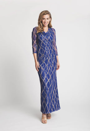Louise Dress in Sea Rope