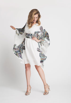 Alexandra Kaftan in Tropical Leaves 3