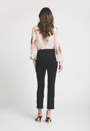 Charlotte Blouse in Horn back view