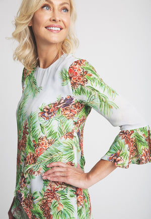 Kate Blouse in Tyrol side view