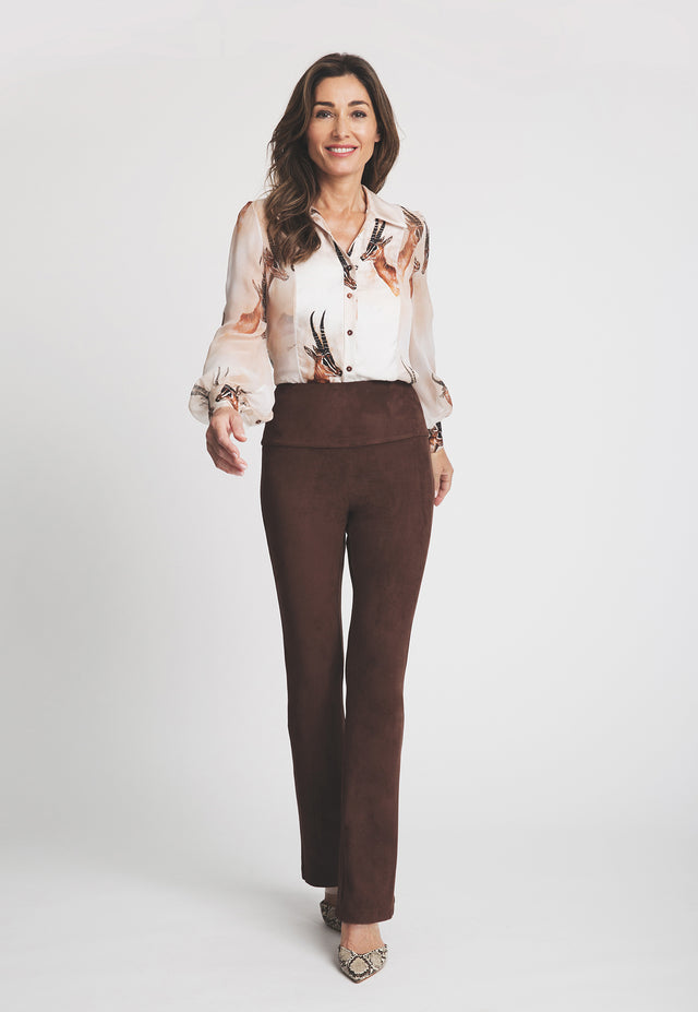 Gabriele Pant in Brown