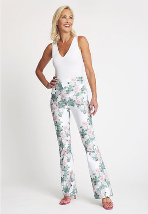 Elaine Pant in Gardenia front view
