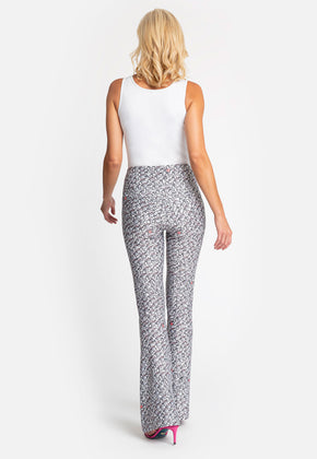 Elaine Pant in Calathea back view