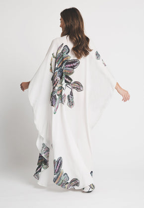 Alma Kaftan in Tropical Leaves 2