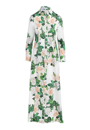 Kathe Dress in Gardenia front dress