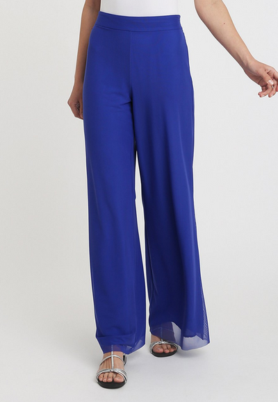 royal blue silk pant