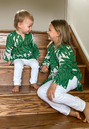 Penny Tunic for Girls in Queen Palm