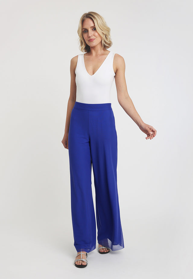Antonia Pant in Regal Blue front view