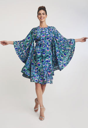 Mary Short Kaftan in Jaipur front view