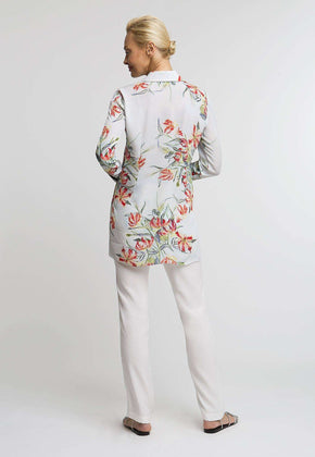 Ala Blouse in Water Mill back view