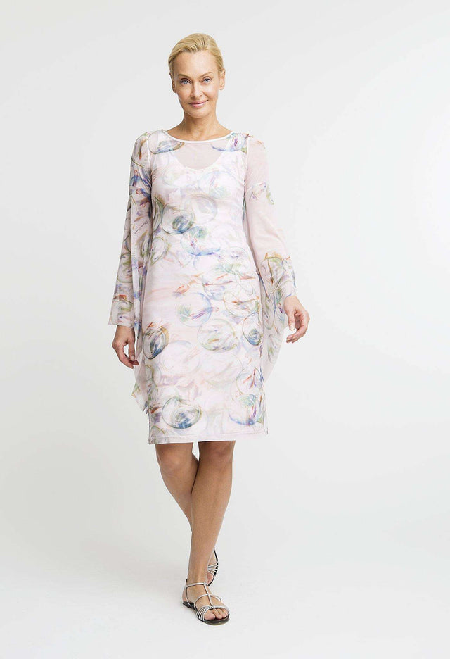 Emilie Short Dress in Nonsuch front view