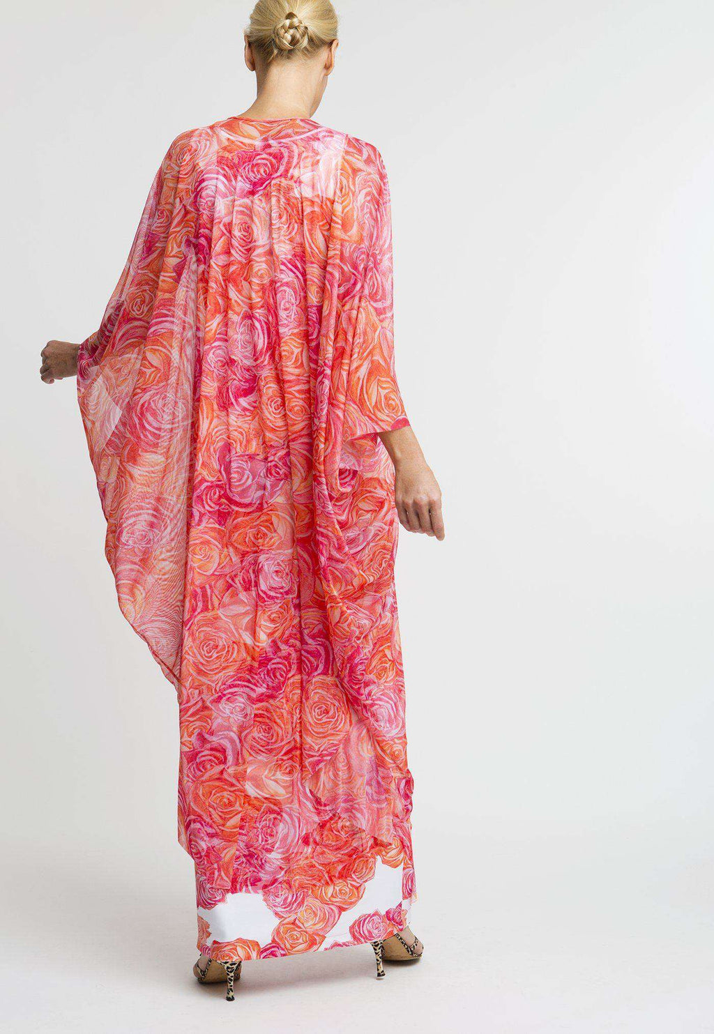 Francoise Kaftan in Moraine back view