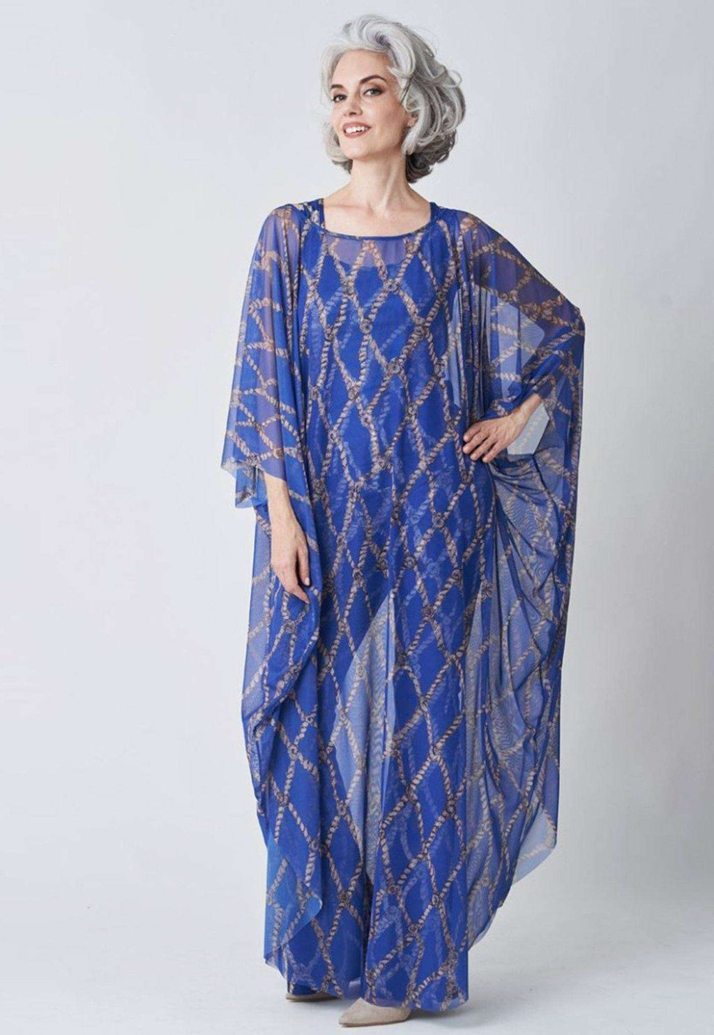 Francoise Kaftan in Sea Rope front view