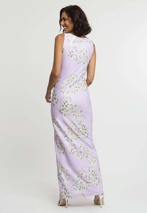Lavinia Dress in Sagaponack back view