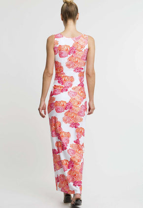Lavinia Long Dress in Moraine
