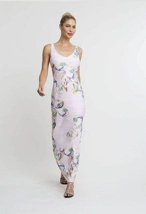 Lavinia Long Dress in Nonsuch