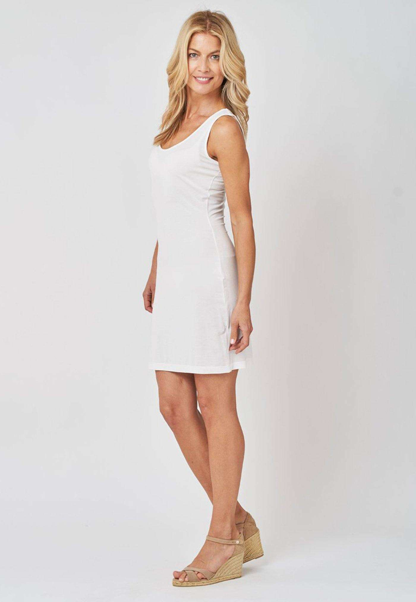 Perle Short Dress side view