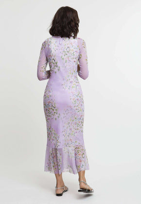 Sophie Dress in Sagaponack back view