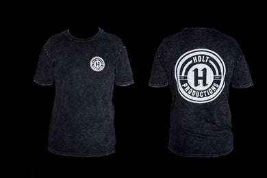 NEW! HOLT LOGO TEE STONE WASH