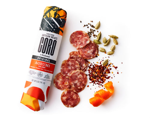 Agrumi Salami with Cardamom, Orange Peel, and Red Chili Flakes