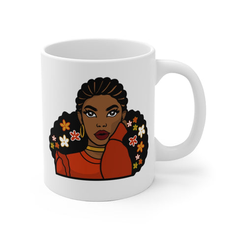 Brown Skin Girl Mug