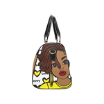 Lovey Brown Skin Travel Bag