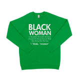Black Woman Sweater