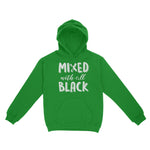 Mixed With All Black Hoodie