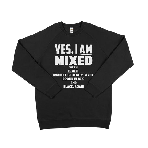 Yes i am mixed Sweater