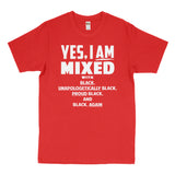 Yes i am mixed Tee