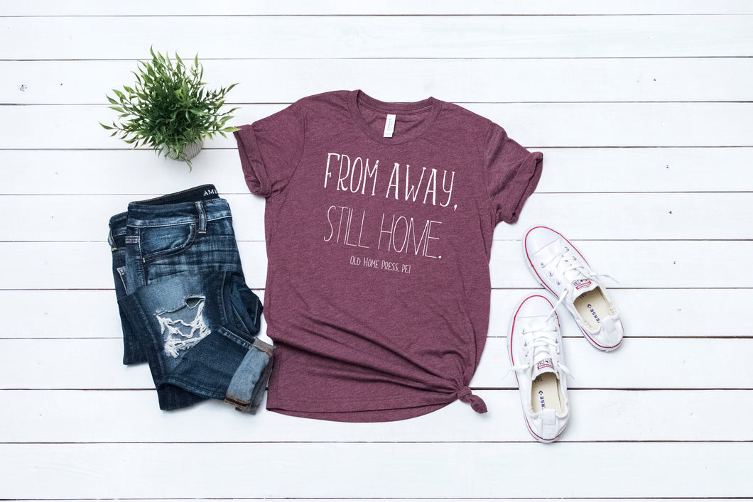 From Away Ladies Tee
