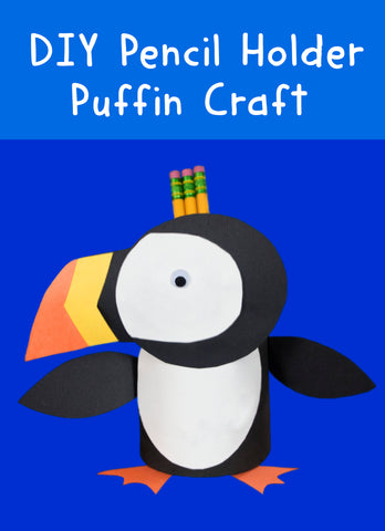 DIY Pencil Holder | Puffin Crafts | Fun Crafts for Kids | Art and Craft for Kids | Things to do with Kids