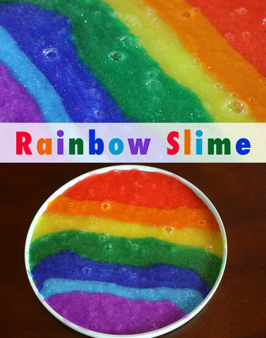 Rainbow Slime | Craft for Kids | Art and Craft for Kids | Slime Recipe | How to Make Slime