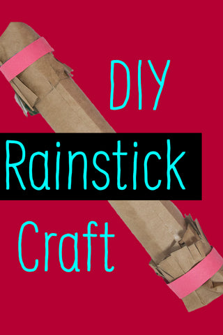 DIY Rainstick Craft | Art and Craft for Kids | Kids Activity | DIY Musical Instrument | Crafts for Kids | Weather Crafts