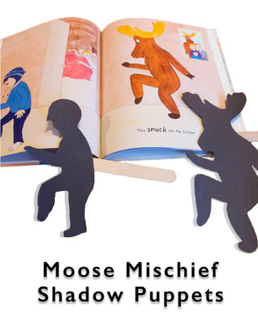 Moose Mischief | A Pancake Surprise! | Book Activities | Shadow Puppets | Crafts for Kids
