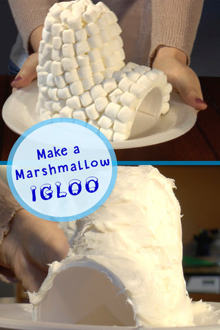 How to Make a Marshmallow Igloo | Make an Igloo | Crafts for Kids | Kids Activity