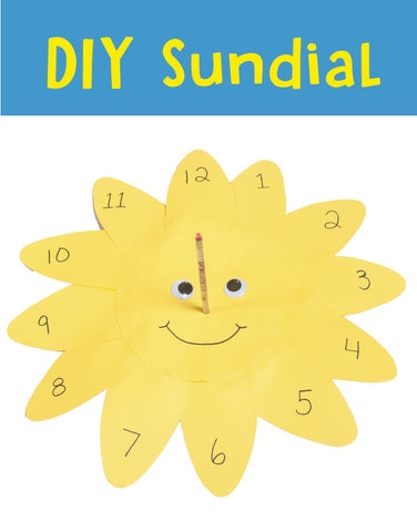 DIY Sundial | Science for Kids | Crafts for Kids | Science Project | Summer Crafts | Summer Activities for Kids | Fun Science