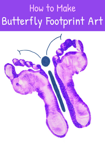 Butterfly Crafts | Crafts for Kids | Footprint Art