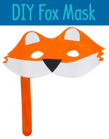 Fox Mask | Animal Masks | Fox Crafts | Crafts for Kids | Activities for Kids | Kids Activity | DIY Masks