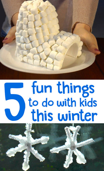 Things to Do with Kids | Winter Crafts | Kids Activities | Crafts for Kids | Activities for Kids | Fun Things to Do with Kids