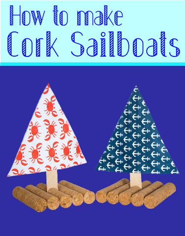 DIY Sailboats | Cork Sailboats | Wine Cork Sailboats | How to Make a Floating Sailboat | DIY Toys | Crafts for Kids