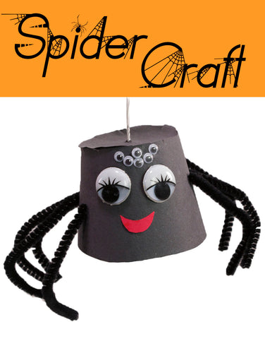 Spider Crafts | Insect Crafts | Halloween Crafts | Crafts for Kids