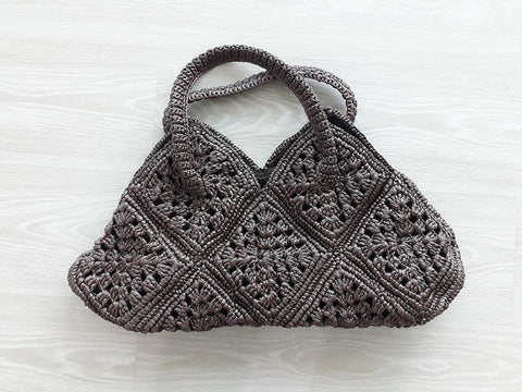 Straw Bags - Brown